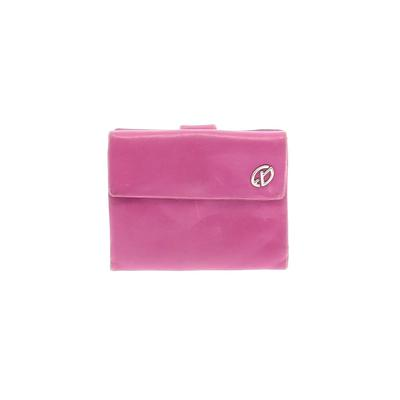 Francesco Biasia - Francesco Biasia Leather Wallet: Purple Solid Bags
