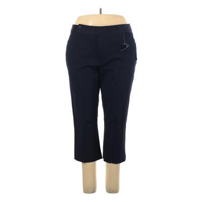 Chaps Dress Pants – High Rise: Blue Bottoms – Size 20