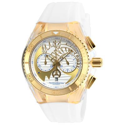TechnoMarine Cruise Dream 40.57mm watch with Gold Gold+Antique Silver dial FS23 Quartz - Model 115002