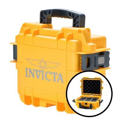 Invicta 3 Slot Impact Case - Model DC3YEL