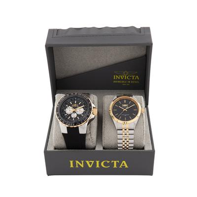 2-IN-1 Bundle - Invicta Aviator 50mm Specialty 43mm Watches - (33029-29377-DAD)
