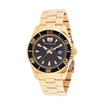 TechnoMarine Manta Sea Men's Watch - 42mm Gold (TM-220101)