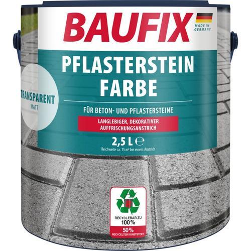 Baufix Pflasterstein-Farbe Transparent