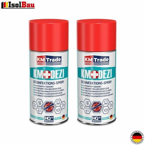 Desinfektionsmittel Händedesinfektion KM DEZI 2 x 150ml Hautdesinfektion Aerosol