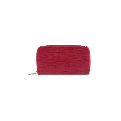 Louis Vuitton - Louis Vuitton Leather Wallet: Burgundy Solid Bags