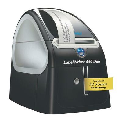 Etikettendrucker LabelWriter 450 Duo Schriftbandbreiten 6,9,12,19,24mm DYMO