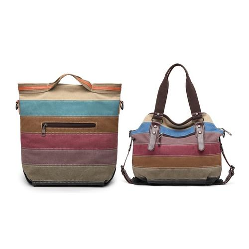 E1679 Tote Bag Rainbow