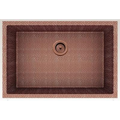 27-in. W CSA Approved Rose Copper Kitchen Sink With Copper Finish And 16 Gauge - American Imagination AI-29174