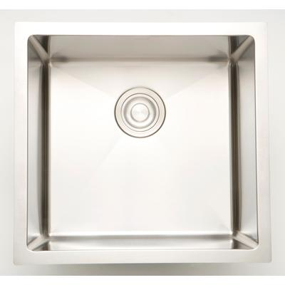 16-in. W CSA Approved Stainless Steel Kitchen Sink With Stainless Steel Finish And 18 Gauge - American Imanginations AI-27521