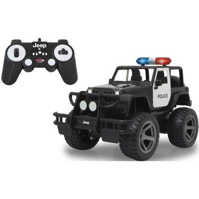Jamara RC-Auto Jeep Wrangler Police schwarz Kinder RC Auto Autos, Eisenbahn Modellbau