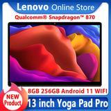 Nouveau Produit Lenovo Yoga Pad Pro Tablette PC Snapdragon 870 Octa-core 8 Go Ram 256 GO Rom 13