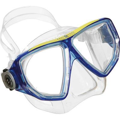 AQUA LUNG SPORT Tauchmaske OYSTER LX, Größe L in Transparent/Blau