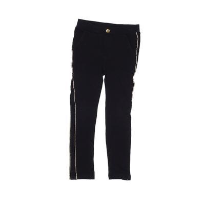H&M Casual Pants - Elastic: Black Bottoms - Size 5
