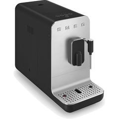 Smeg Kaffeevollautomat BCC02BLMEU, Herausnehmbare Brüheinheit schwarz Kaffee Espresso SOFORT LIEFERBARE Haushaltsgeräte