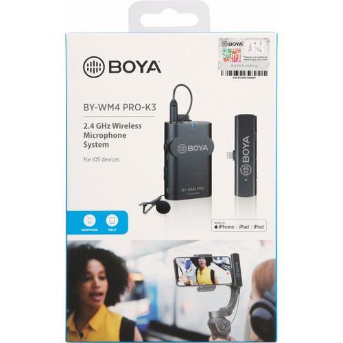 BOYA BY-WM4 PRO-K3, Mikrofon