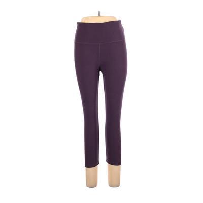 N.Y.L Sport Active Pants - High Rise: Purple Activewear - Size Large