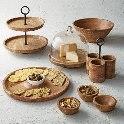 Teigen Wood & Rivet Serving Coll...