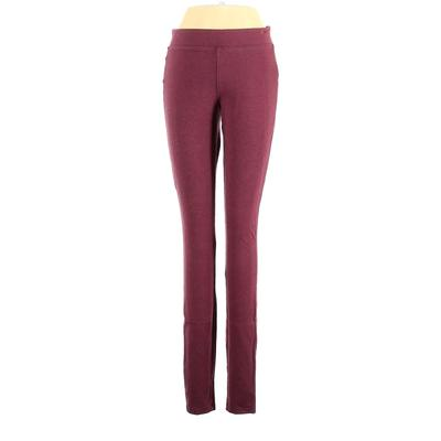 Old Navy Sweatpants - Low Rise: Burgundy Activewear - Size Small
