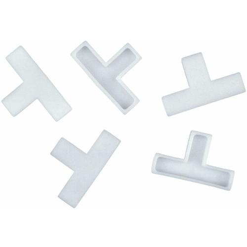 Fliesen-T-Stücke 4 mm 250 Stück 250 Stück, 4 mm