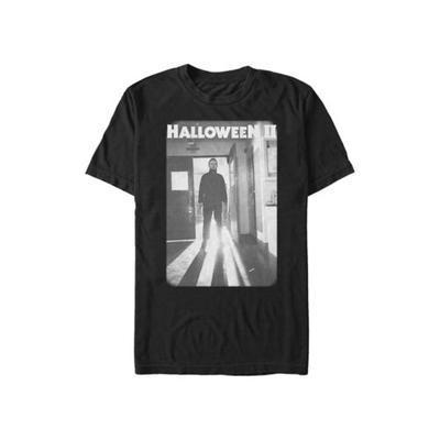 Halloween 2 Black Faded Image Halloween II Pose Graphic T-Shirt