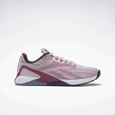 Reebok Women's Nano X1 Training Shoes in Frost Berry/Punch Berry/Vector Navy Size 8 - Training Shoes