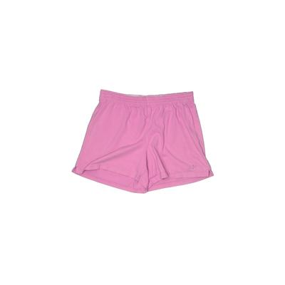 NordicTrack Shorts: Purple Solid Bottoms - Size Small