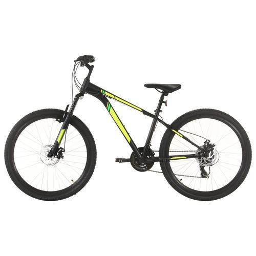 vidaXL Mountainbike 21 Gang 27,5 Zoll Rad 38 cm Schwarz