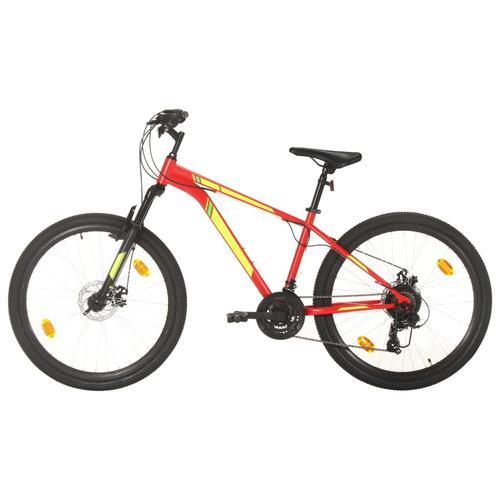 vidaXL Mountainbike 21 Gang 27,5 Zoll Rad 38 cm Rot