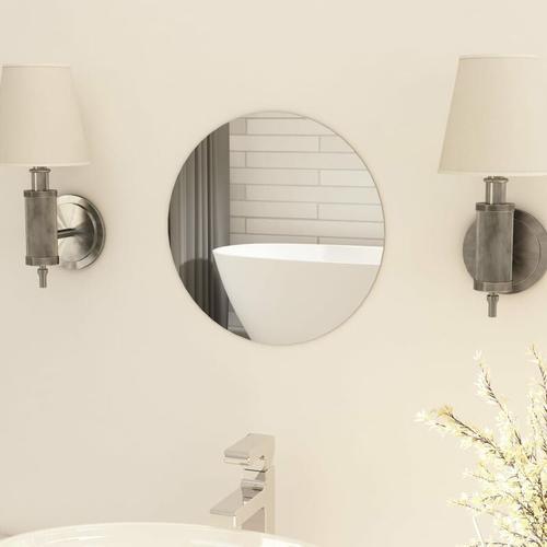 Rahmenloser Spiegel Rund 30 cm Glas - Youthup