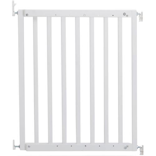 Geuther Türschutzgitter Modilok, weiß, Schwenk-Türschutzgitter; verstellbar von 63-103,5 cm weiß Baby Babygitter Babymöbel