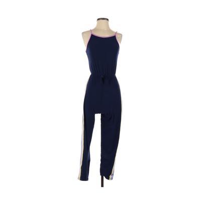 Derek Heart Jumpsuit: Blue Solid Skirts & Jumpsuits - Size 10