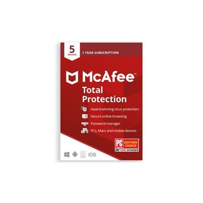 McAfee Total Protection 2021 - 5 Device 1 Year