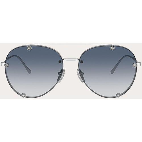 Valentino Valentino garavani pilotensonnenbrille aus metall mit kristallen
