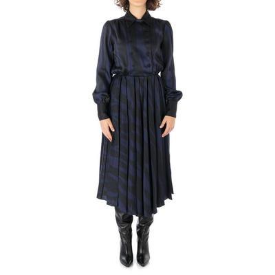 Fancy Dress - Blue - Erika Cavallini Semi Couture Dresses
