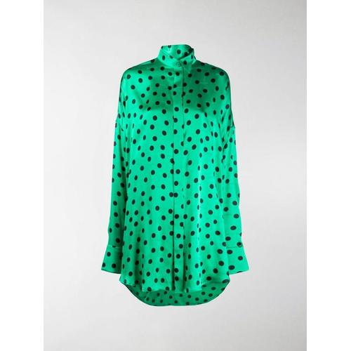 Balenciaga Gepunktete Bluse