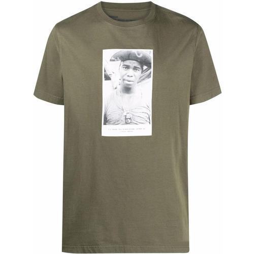 Maharishi T-Shirt mit Foto-Print