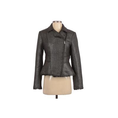 Banana Republic Jacket: Gray Jackets & Outerwear - Size 6