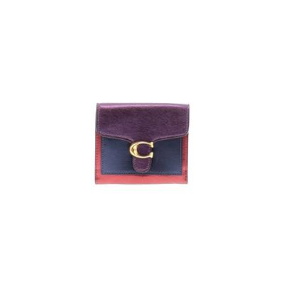 Coach - Coach Leather Wallet: Purple Solid Bags