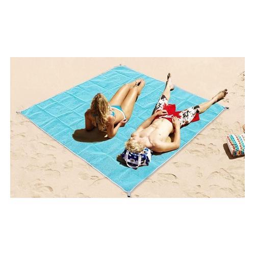 Sandfreie Strandmatte: 200 x 200 cm/1