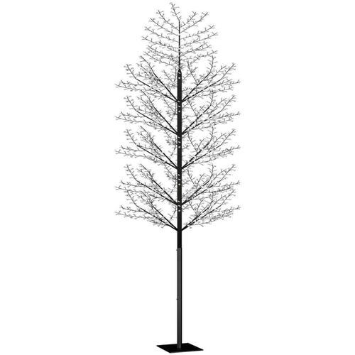 Weihnachtsbaum 2000 LEDs Blaues Licht Kirschblüten 500 cm