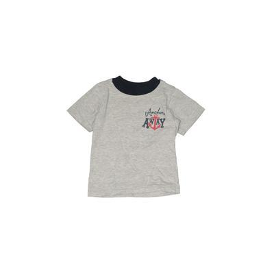 Z Boys Wear Short Sleeve T-Shirt: Gray Tops - Size 3Toddler