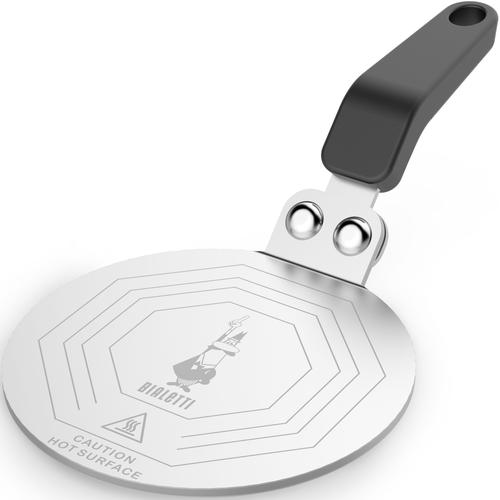 BIALETTI Kochfeld-Adapter, Größe 1 bis 6 Tassen, Ø 13 cm schwarz Kochfeld-Adapter
