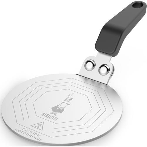 BIALETTI Kochfeld-Adapter, Größe 1 bis 18 Tassen, Ø 20 cm schwarz Kochfeld-Adapter