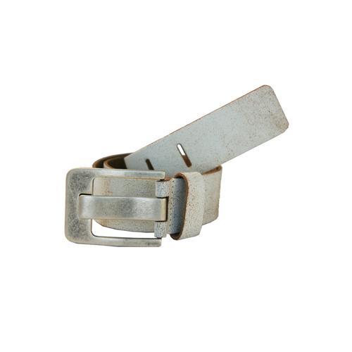 Petrol Industries Ledergürtel, mit hochwertiger Dornschließe weiß Damen Ledergürtel Gürtel Accessoires