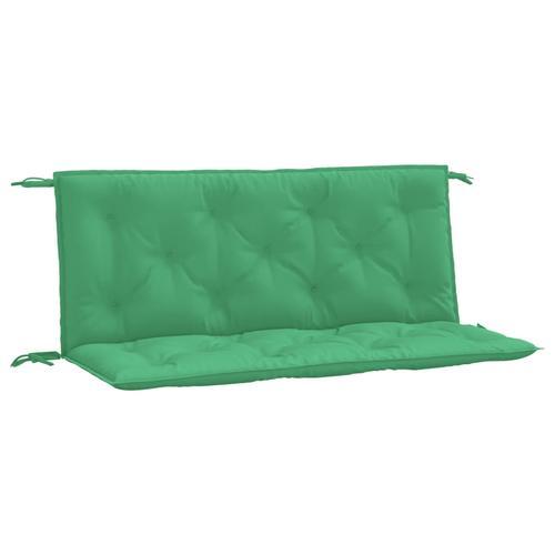 vidaXL Auflage für Hollywoodschaukel Grün 120 cm Stoff