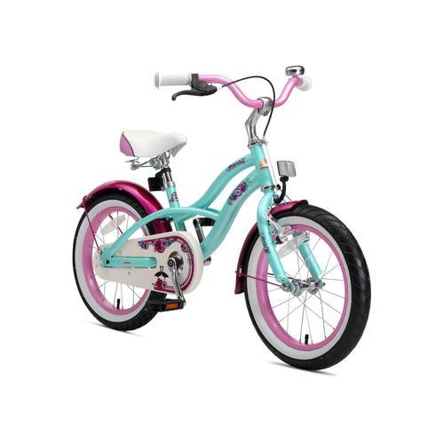 Bikestar Kinderfahrrad (16 Zoll, Mint, Cruiser)