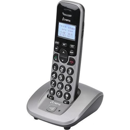 Olympia Telefon DECT 5000, Telefon, Silber
