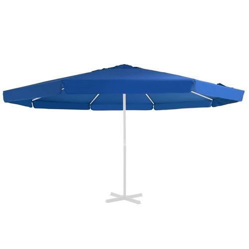vidaXL Ersatzbezug für Sonnenschirm Azurblau 500 cm