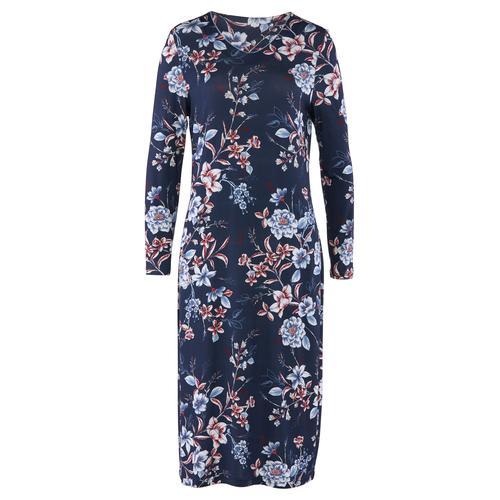 Avena Damen Nachthemd Blütentraum Blau