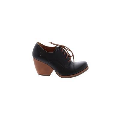 Korks - Korks Heels: Black Solid Shoes - Size 6